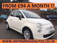FIAT 500 POP 1.2 ** 48,000 MILES ** FULL DEALER SERVICE HISTORY ** FINANCE AVAILABLE WITH NO DEPOSIT