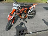 2015 KTM 450 for sale with race van as package