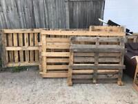10 Pallets free to collection Shoreham Beach