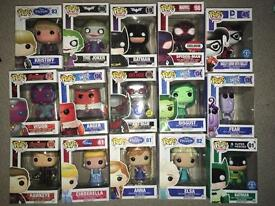 Funko Pop Collectibles - Various