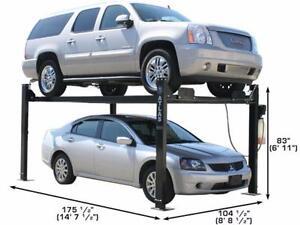 Atlas Garage Pro 8000 4 Post Lift (8,000lbs Capacity)