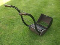 """SUPER RANSOMES 12""""AJAX MK 3 QUALITY PUSH LAWN MOWER RUNS LIE A TOP JUST THE THING FOR SMALL LAWN"""