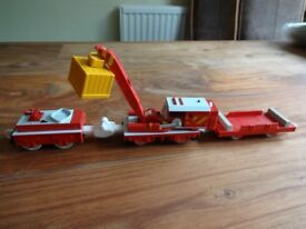 TOMY - Rocky (with working crane) from Thomas the Tank Engine & Friends