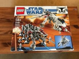 Lego 10195 Republic Drop Ship with AT-OT Walker, USC, Complete, Boxed, very rare and collectible