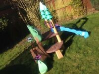 **BARGAIN** Little tikes 123 climber and see-saw for sale
