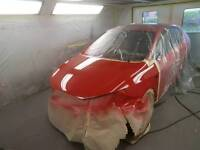 Vehicle body and paintwork repair