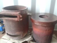 Aga Cooker Solid Fuel Barrels