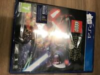 Brand new sealed lego Star Wars ps4