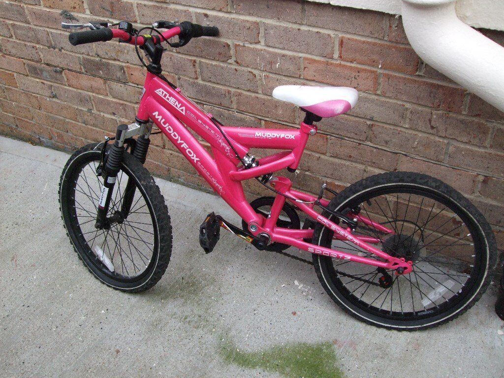 girls 14 inch muddyfox arena bike
