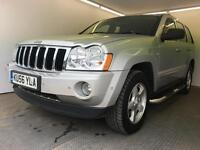 2006 | Jeep Grand Cherokee 3.0 V6 LIMITED STATION WAGON | Diesel | Auto | 1 Former Keeper | 1 Yr MOT