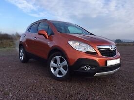 vauxhall Mokka: 1.6 vvt petrol, manual immaculate condition, full leather, only 12,000 miles 1 owner