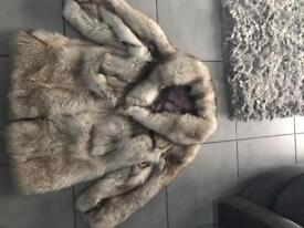 Stunning fur coat
