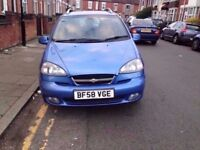 Chevrolet TACUMA AUTOMATIC BLUE 2008 £375