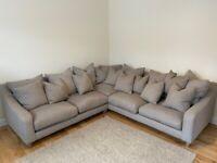 """Loaf - XL """"Oscar"""" corner sofa in grey"""
