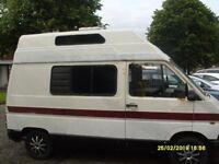 Renault traffic campervan 1985