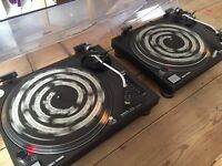 Technics 1210 MK2 Pair in Great Condition
