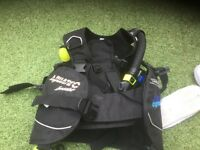 . Aquatec, Innovator Junior SCUBA Diving BCD (Size 3S) In excellent condition