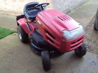 "Ride-on Lawnmower - MTD - 30"" cutting deck - 5 forward gears and 1 reverse"