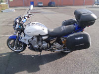 yamaha xjr1300sp pure muscle bike with lots of extras fitted video attached