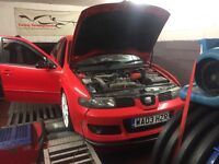 cleanest 2003 leon cupra r stage 1 tuned 260bhp with proof stunning frshly painted good spec