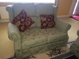 Green vintage country style sofa