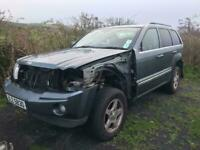 2005-2010 Jeep Grand Cherokee 3.0crd green / all parts available