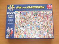 Jan Van Haasteren 'Happy Birthday' 1,000 piece jigsaw. Complete. Top quality.