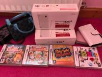 Nintendo DSi (x2 white, with boxes) & bundle