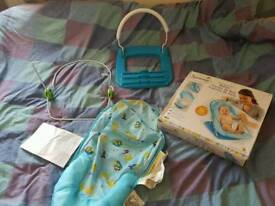 Summer delux baby bather portable