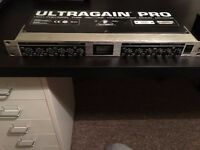 Behringer Ultragain Pro and Composer Pro XL.