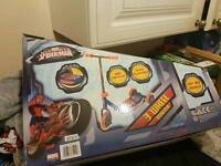 Spider man scooter new