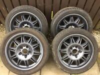 "17"" E36 BMW M3 sunflower alloy wheels (reps)"