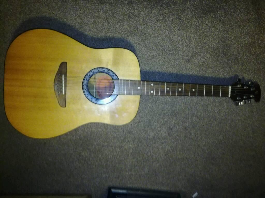 CL Clarissa Acoustic guitar, gd sound