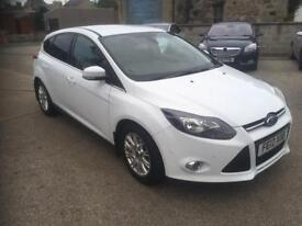 2012 Ford focus titanium 1.6 TDCI 5 door (DIESEL £20 TAX)
