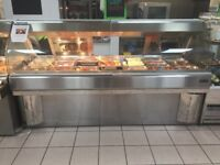HennyPenny 7Well Hot Food Counter