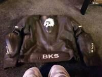 BKS LEATHERS Jacket 52 trousers 34