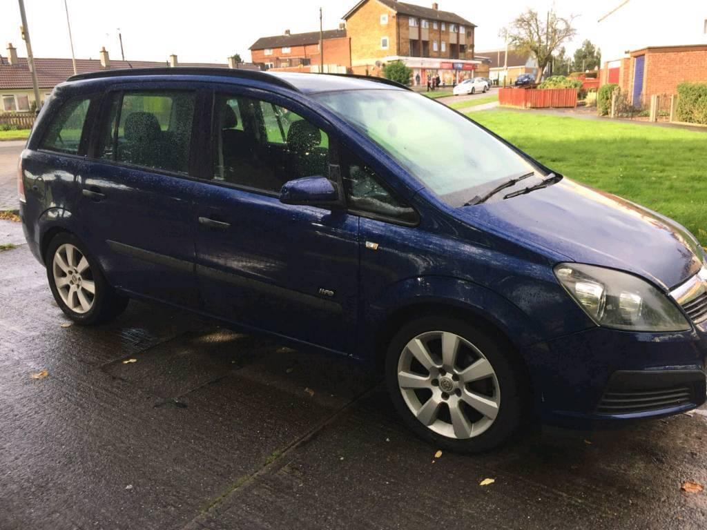 Vauxhall zafira.16