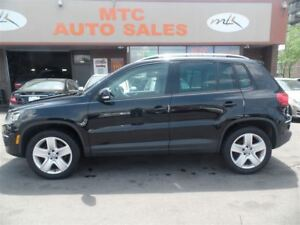 2013 Volkswagen Tiguan 2.0 TSI, LOW KM, LEATHER, PAN SUNROOF