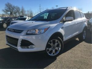 2015 Ford Escape Titanium 4WD LEATHER NAVIGATION  SUN ROOF