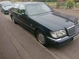 Mercedes-benz W140 S320 limo, Low miles