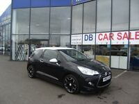 2012 12 CITROEN DS3 1.6 E-HDI AIRDREAM DSPORT 3D 111 BHP***GUARANTEED FINANCE**PART EX WELCOME***