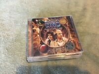 Doctor who, big finish audio plays, new and sealed