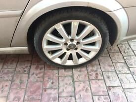 "Vauxhall vectra 18"" alloys"