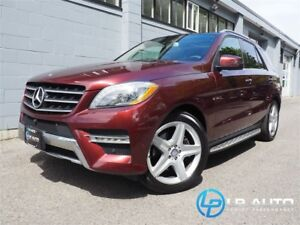2014 Mercedes-Benz M-Class ML350 BlueTEC 4MATIC! Only 35000kms!
