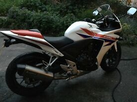 Honda CBR500R motorbike