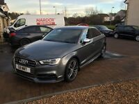 Audi S3 saloon low mileage 64 plate