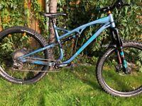 Whyte T130 SR 2019 full suspension mountain bike