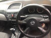 Automatic Nissan Almera 2003 Grey 1.8 SE Petrol