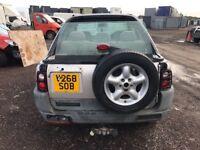 Land Rover Freelander petrol parts bumper engine gearbox radiator