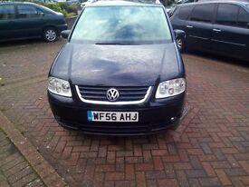 VW TOURAN 2006 1.9TDI BLACK